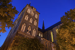 St. Mary's Church in Rostock Stock Photography