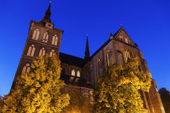 St. Mary's Church in Rostock Royalty Free Stock Photography
