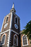 St Mary's Church in Rotherhithe, London. Royalty Free Stock Photos