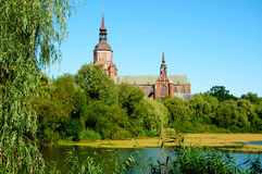 St. Mary's Church in Stralsund. Germany Stock Images