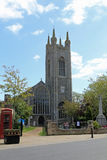 St Mary`s Church. It is thought that the Church of the Holy Cross, mentioned in the 11th century Domesday survey, was a Saxon church on the some site as the royalty free stock photos