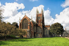 St Mary`s Church in Totnes, England Stock Photo