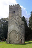 St Mary's church tower, Dartington. Remains of St Mary's church, Dartington Stock Image