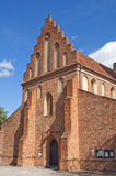 St. Mary's Church, Warsaw. Church of the Visitation of the Most Blessed Virgin Mary, also known as St. Mary's Church, Warsaw, Poland stock photo