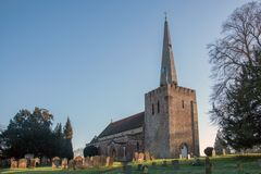 St Mary`s Church West Malling Kent England Royalty Free Stock Photo