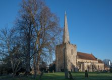 Free St Mary`s Church West Malling Kent England Stock Photos - 168114663
