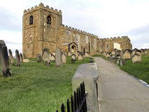 St. Mary's church, Whitby, Yorkshire. Royalty Free Stock Photography