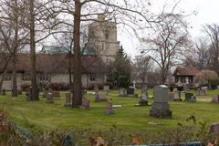 St Mary's Church, Windsor, Ontario Stock Images