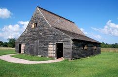 St. Mary's City, MD: 1785 Mackell Barn Royalty Free Stock Photo