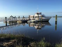 St. Mary& x27;s Ferry to Cumberland Island stock image