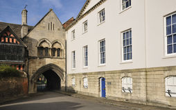 St. Mary's Gate, Gloucester Royalty Free Stock Photo