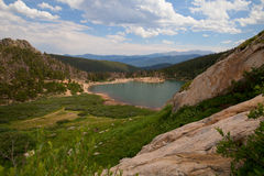 St Mary's Glacier foothills Royalty Free Stock Image