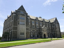 St. Mary`s Hall, Boston College, Boston, MA. Royalty Free Stock Images