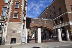 St. Mary's Hospital in Paddington, London. St. Mary's Hospital located in Paddington, London Stock Photo