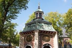 St Mary& x27; s kapelplaats van bedevaart in Kevelaer, Duitsland royalty-vrije stock foto
