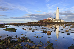 St Mary S Lighthouse Royalty Free Stock Photo