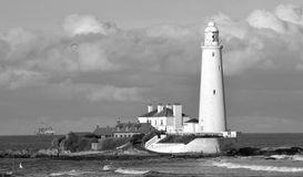 St Mary's Lighthouse Stock Photos