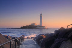 Free St Mary S Lighthouse Royalty Free Stock Photography - 3287527