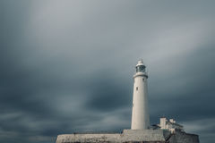St. Mary's Lighthouse Royalty Free Stock Images