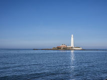 St Mary's Lighthouse Whitley Bay Royalty Free Stock Image
