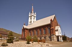 St. Mary's in the Mountains Stock Photo