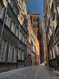 St. Mary's old cathedral in Gdansk Royalty Free Stock Photo