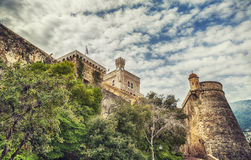 St Mary's Tower, Prince's Palace of Monaco Royalty Free Stock Photography