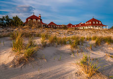 St. Mary by The Sea, in Cape May Point, New Jersey. royalty free stock photo