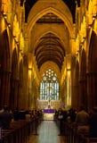 St Mary Star da igreja Católica do mar foto de stock royalty free
