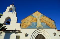 Beautiful Church with blue sky  Stock Photo