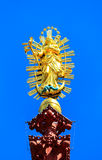St. Mary Statue of the Marienkapelle in Wuerzburg, Bavaria, Germany Royalty Free Stock Image