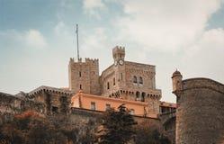St Mary Toren in Monaco Stock Afbeelding
