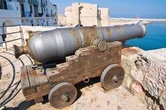 St. Mary toren. Monopoli. Puglia. Italië. Royalty-vrije Stock Foto's
