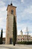 St Mary tower, Alcala de Henares, Madrid (Spain) Royalty Free Stock Image