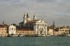 St Mary van de Rozentuinkerk in Venetië, Italië, 2016 Royalty-vrije Stock Afbeeldingen