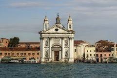St Mary van de Rozentuinkerk in Venetië, Italië, 2016 Royalty-vrije Stock Foto's