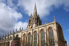 St Mary the Virgin church Royalty Free Stock Photography