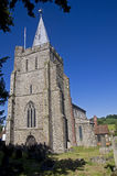 St Mary The Virgin Church - Elham Kent Stock Image
