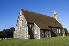 St Mary the Virgin Church - Reculver. Kent England Stock Photo