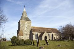 St Mary the Virgin Church at St Mary on the Marsh Stock Photography