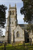 St Mary the Virgin church, St Marychurch, Torquay, Devon, UK Royalty Free Stock Photography