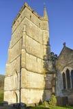 St Mary The Virgin Church Tower, Hawkesbury Stock Photos