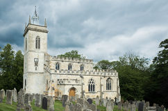 St Mary Virgin church, Weldon. Royalty Free Stock Image
