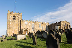 St Mary the Virgin in Whitby Royalty Free Stock Photo