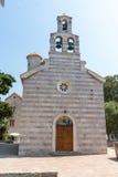St. Mary's Church in Budva, Montenegro Stock Photos