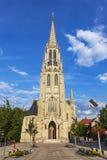 St. Mary's Church (Kosciol Mariacki) in Katowice, Poland Stock Photo