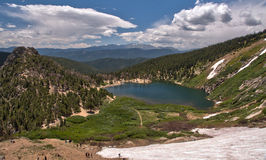 St Mary's Glacier in the Colorado Rocky Mountains Royalty Free Stock Photos