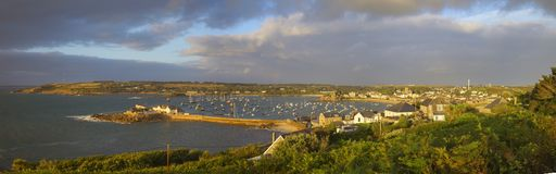 St Mary's Harbour, Isles of Scilly, England Stock Image