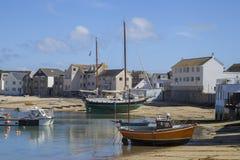 St Mary& x27; s schronienie, St Mary& x27; s, wyspy Scilly, Anglia Zdjęcia Stock