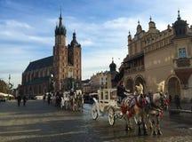 St Mary's Basilica, Kraków, Poland Royalty Free Stock Photo